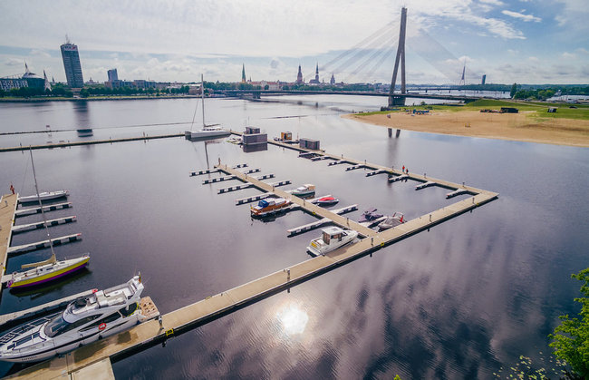 Riga City Yacht Club in Latvia